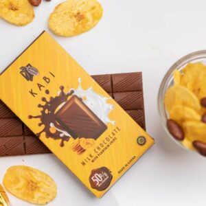 Milk Chocolate With Plantain Chips Large